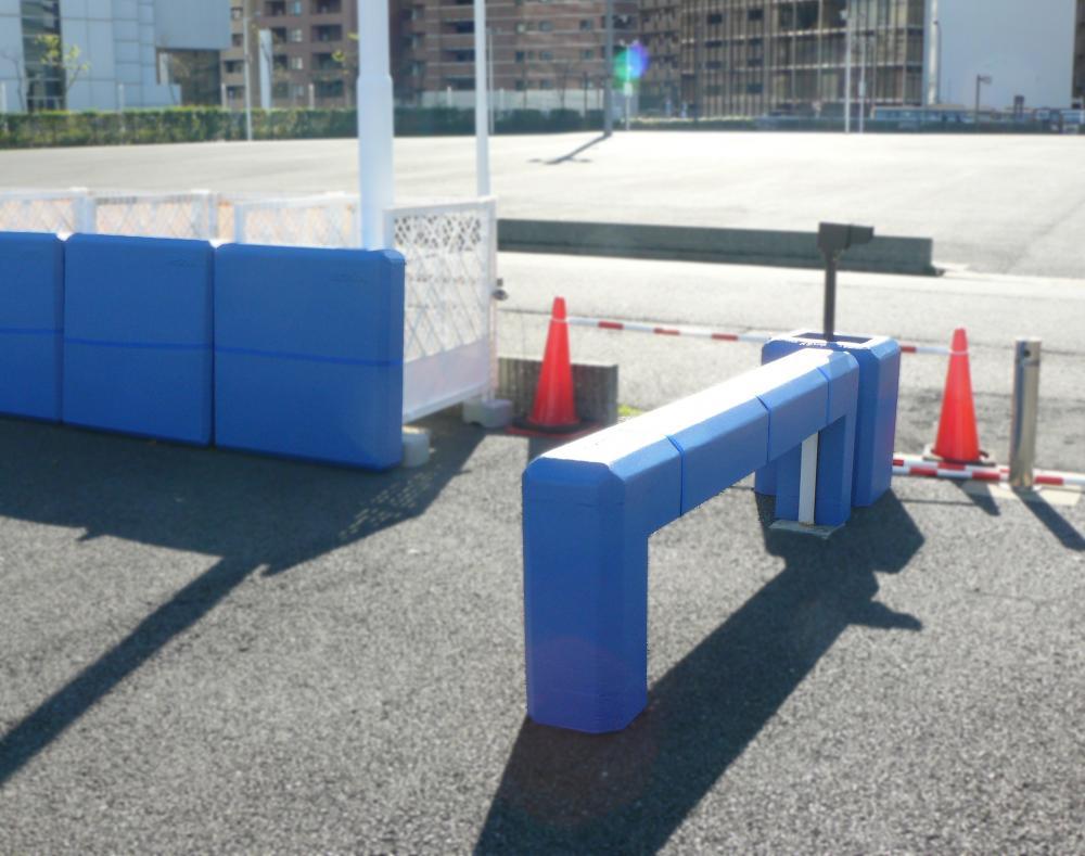 屋外防護マット ラテリアPU 神奈川県横浜市サイクルポート