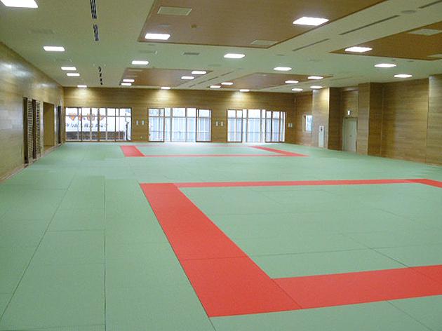 全日本柔道連盟公認畳 フワット 東京都日野市柔道場