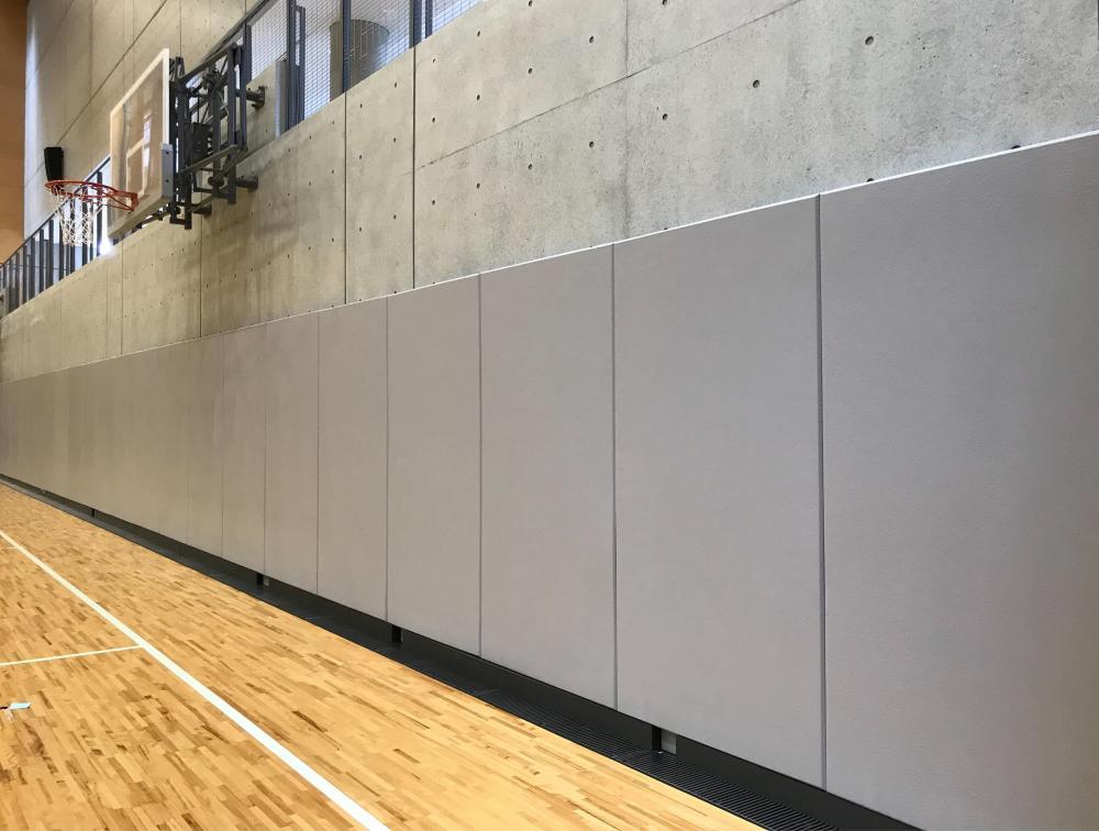 屋内防護マット ラテリアPU 東京都葛飾区体育館
