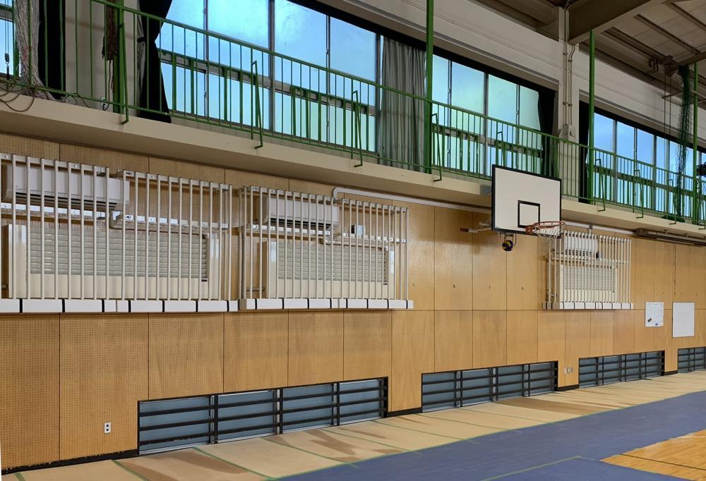 屋外防護マット ラテリアPE 東京都町田市体育館