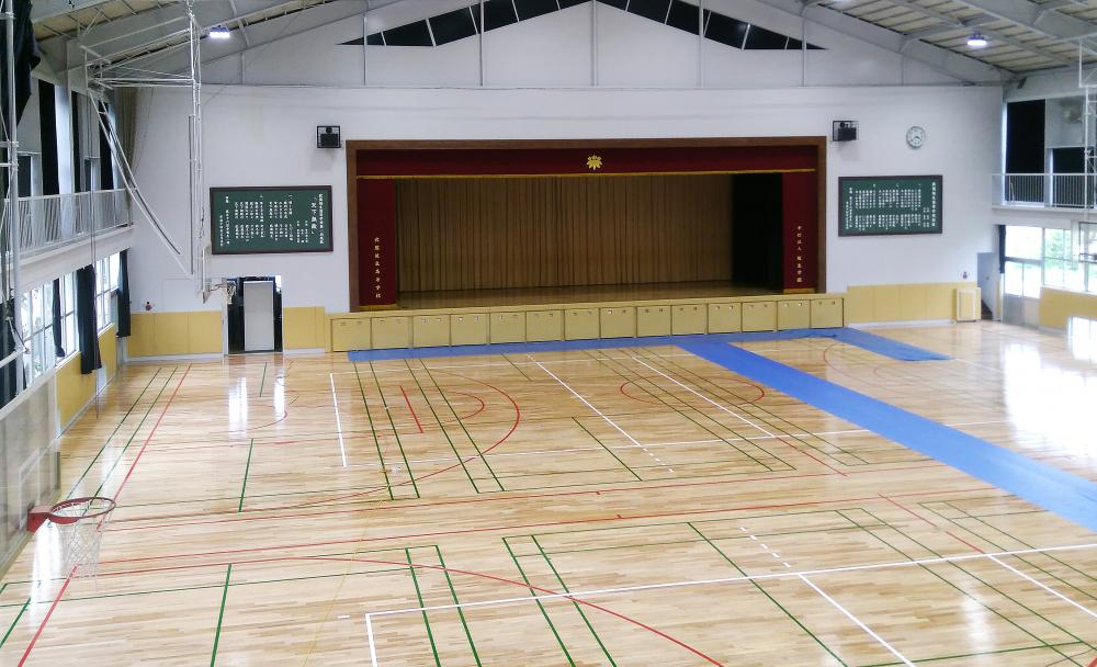 屋内防護マット ラテリアPU 埼玉県入間郡体育館