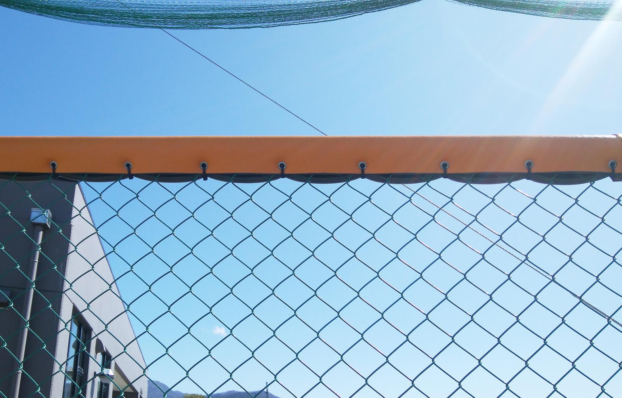 ホームランゾーン識別マット 群馬県中之条町総合運動場