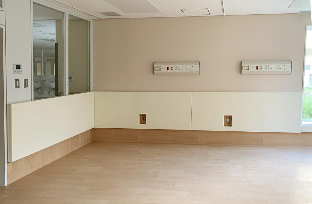 不燃シート仕上げ屋内防護マット ラテリアNF 東京都東大和市障害者支援施設