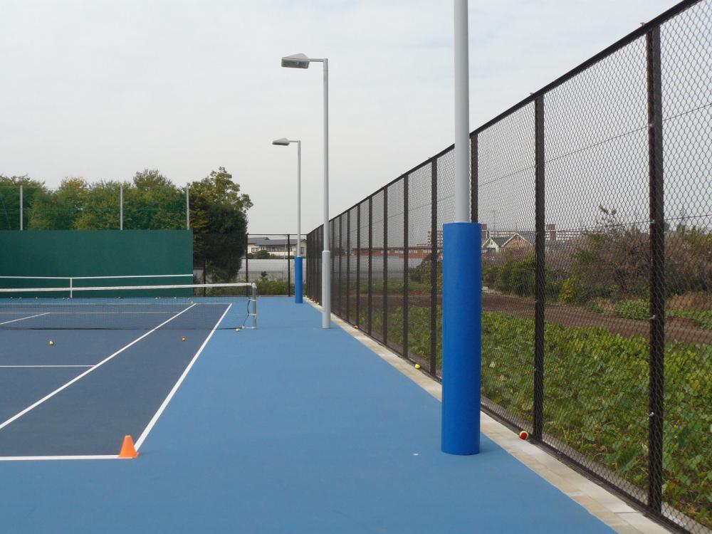 屋外防護マット ラテリアPU 東京都調布市テニスクラブ