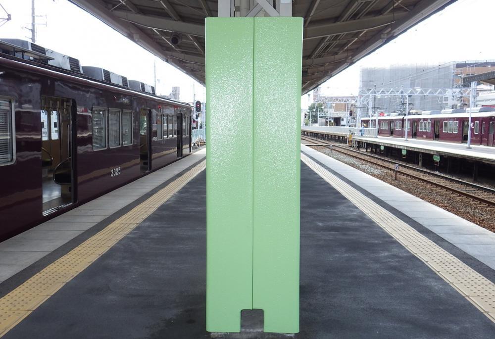 屋外防護マット ラテリアPU 大阪府吹田市駅