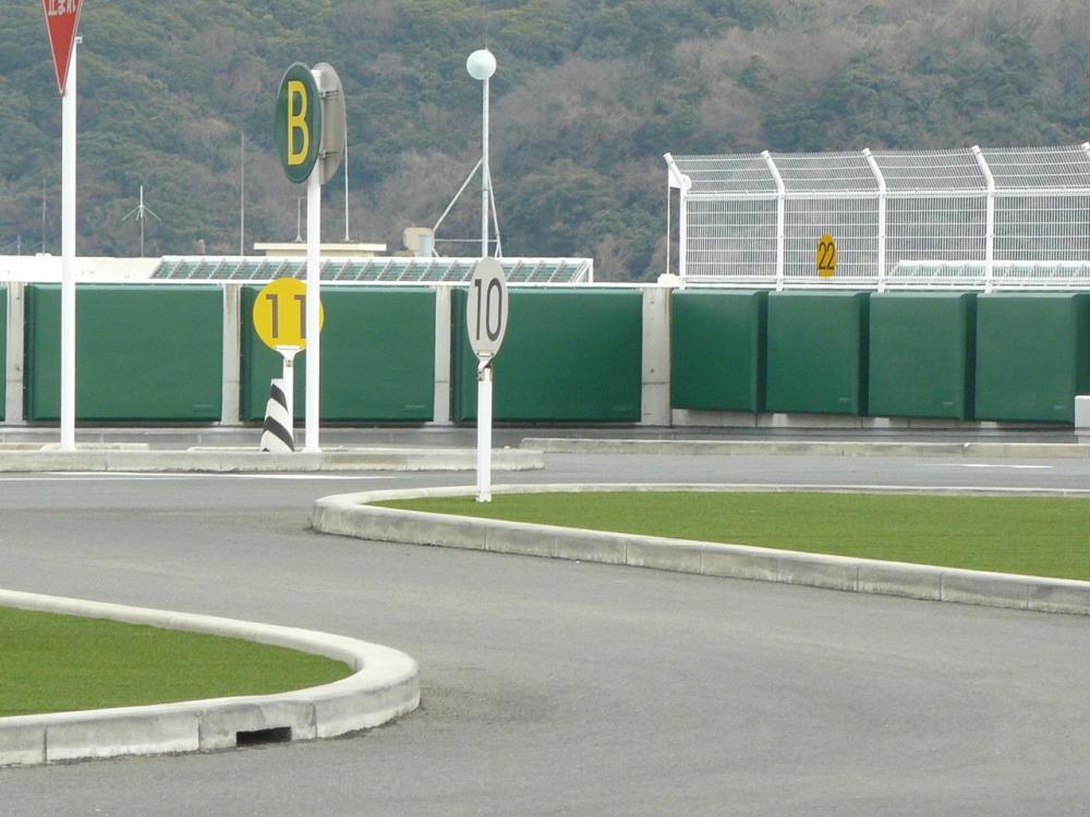屋外防護マット ラテリアPU 神奈川県横須賀市教習所
