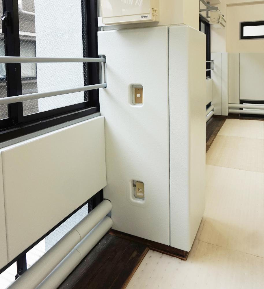 屋内防護マット ラテリアPU 東京都新宿区武道場