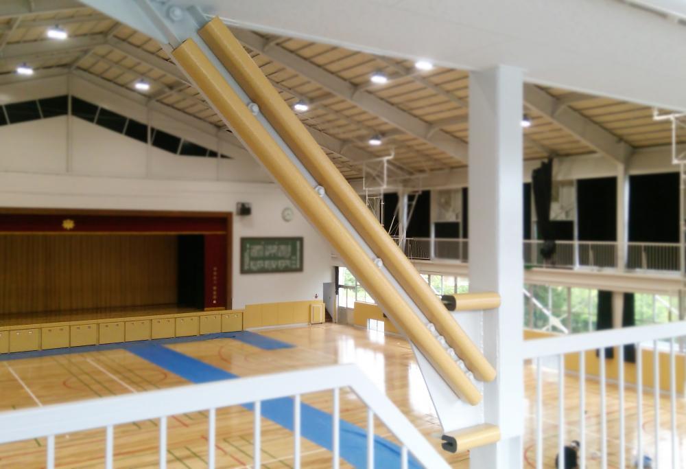 屋外防護マット ラテリアPE 埼玉県入間郡体育館
