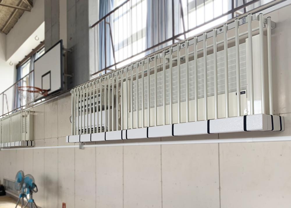 屋外防護マット ラテリアPE 東京都町田市中学校