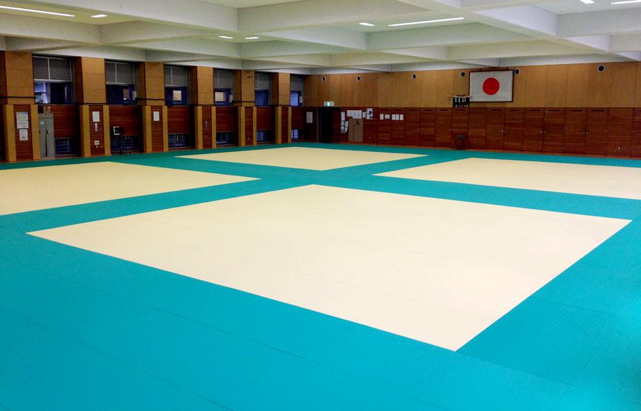 全日本柔道連盟公認畳 フワット 東京都世田谷区柔道畳