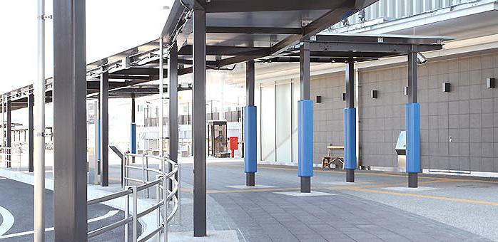 屋外防護マット ラテリアPU 神奈川県相模原市駅