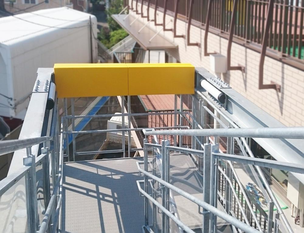 屋外防護マット ラテリアPU 千葉県船橋市保育園