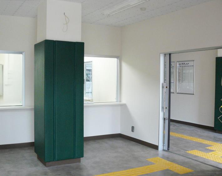 屋内防護マット ラテリアPU 新潟県糸魚川市駅