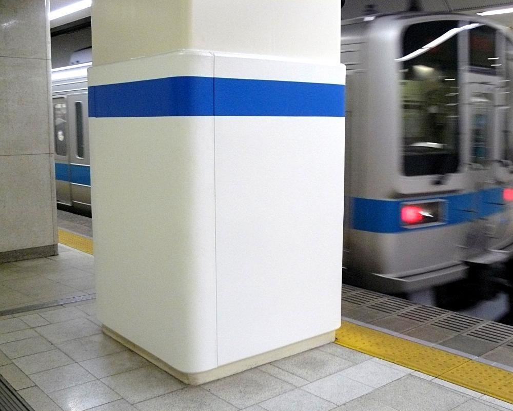 屋外防護マット ラテリアPU 東京都新宿区駅構内
