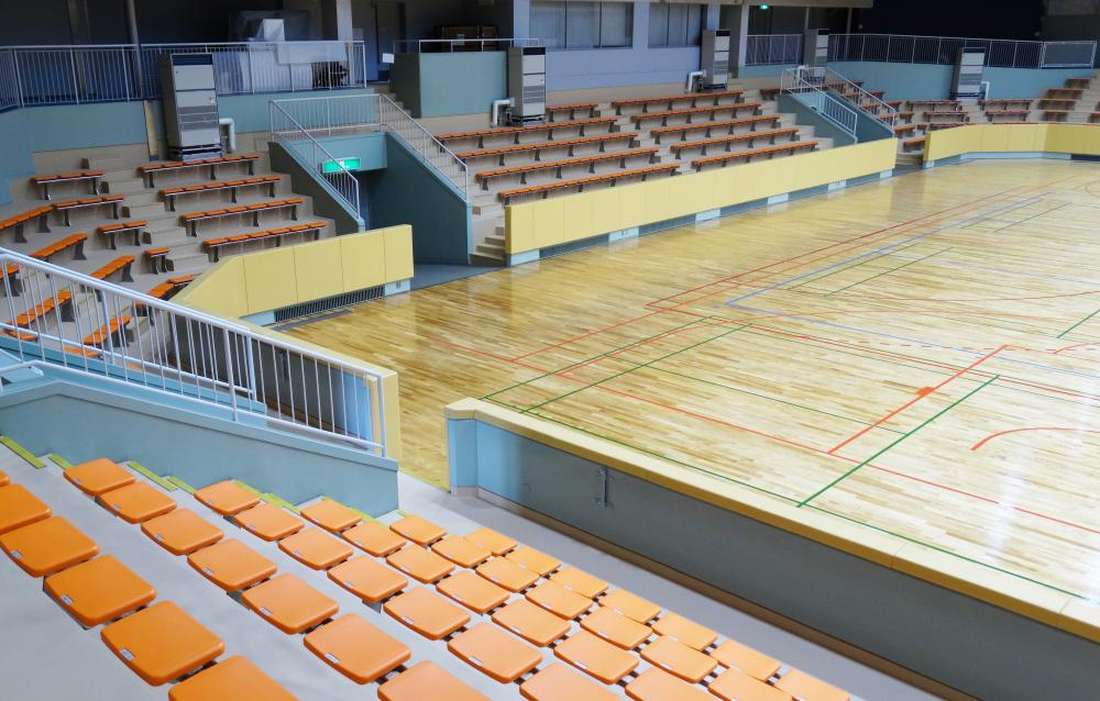 屋内防護マット ラテリアPU 大阪府豊中市体育館