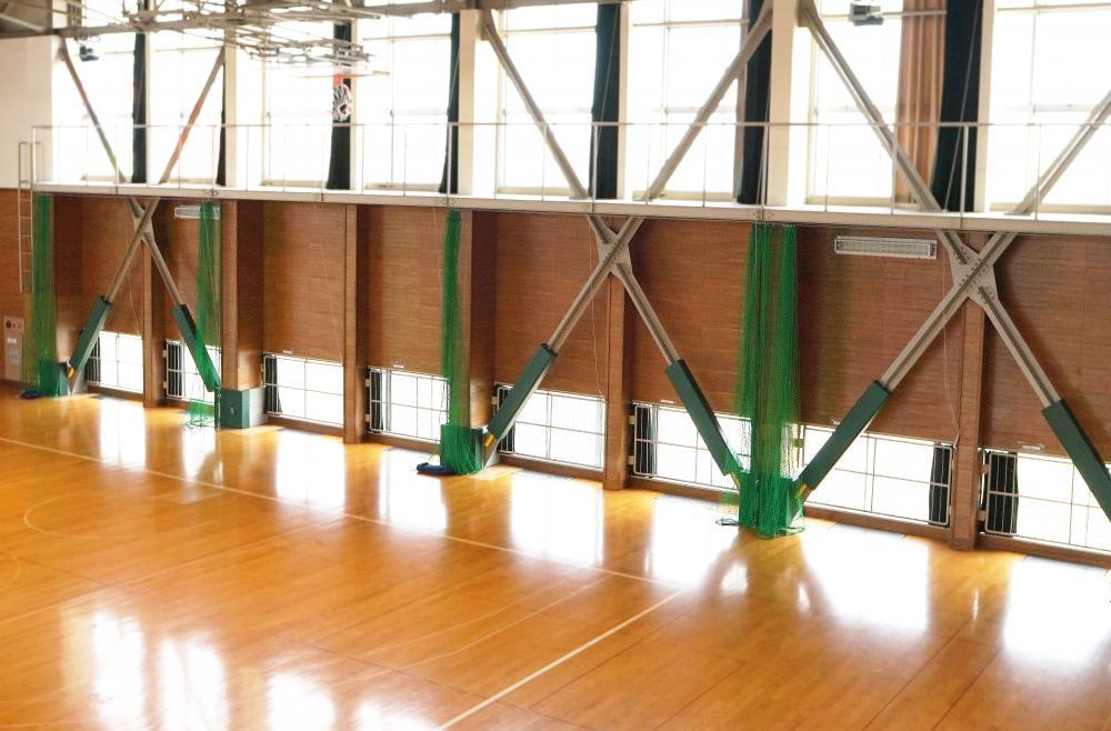 屋内防護マット ラテリアPU 秋田県秋田市体育館