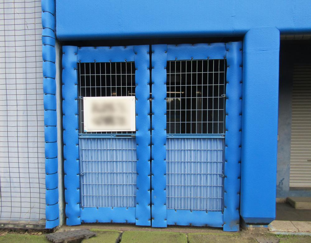 屋外防護マット ラテリアPE 静岡県富士宮市ソフトボール場