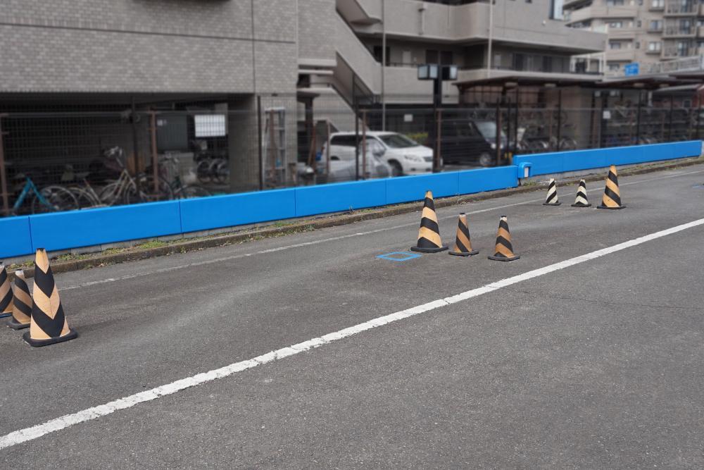 屋外防護マット ラテリアPU 東京都福生市教習所