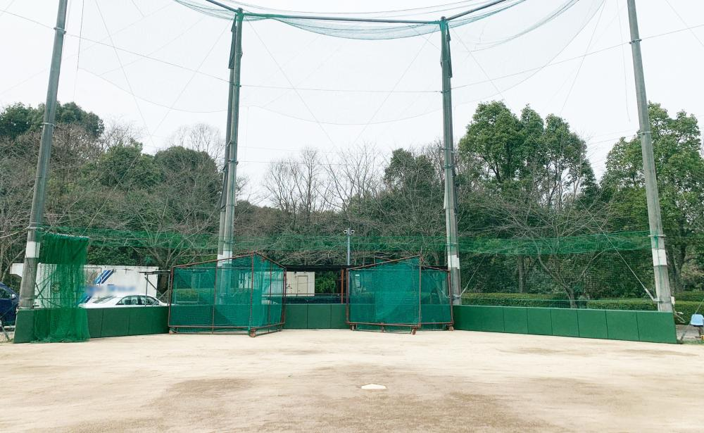 野球場ユニット式防護マット ラテリアPU 福岡県田川市野球場