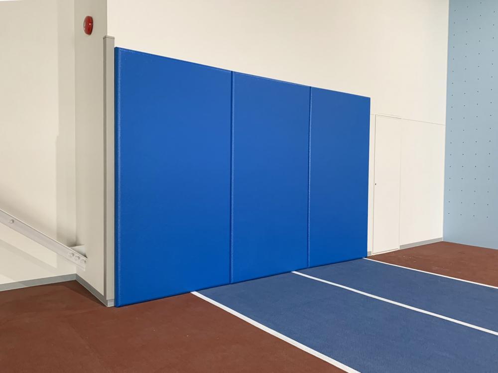 屋内防護マット ラテリアPU 北海道美幌町スポーツセンター