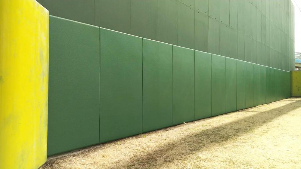 屋外防護マット ラテリアPU 千葉県習志野市野球場
