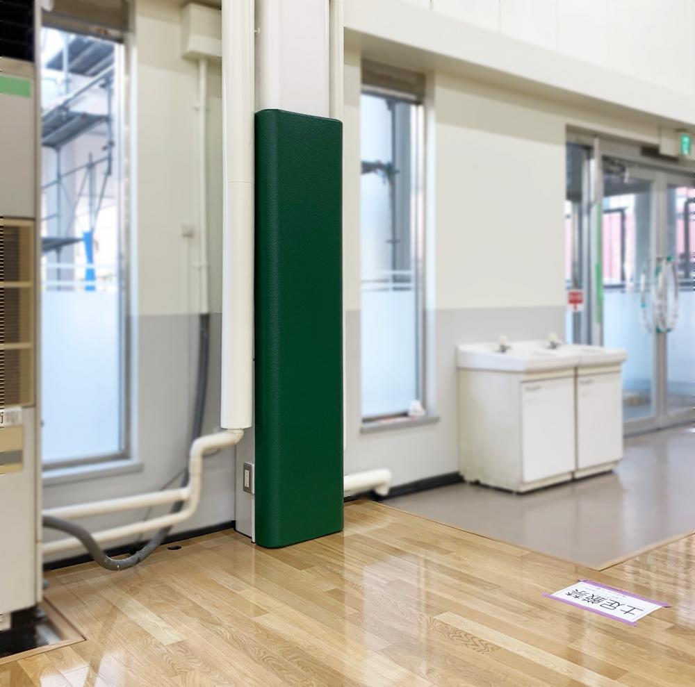 屋内防護マット ラテリアPU 千葉県木更津市体育館
