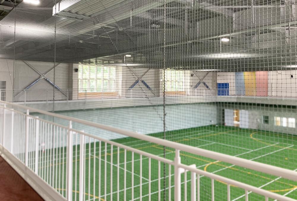 屋外防護マット ラテリアPE 北海道美幌町スポーツセンター
