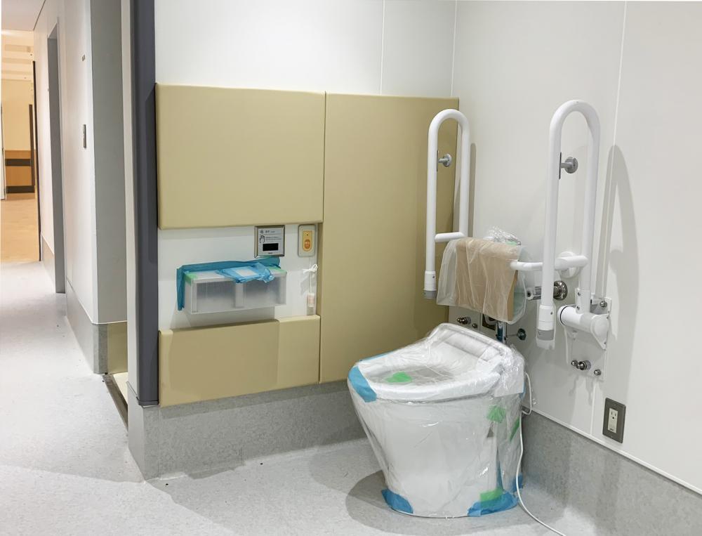 レザーシート仕上げ屋内防護マット ラテリア 東京都東大和市障害者支援施設