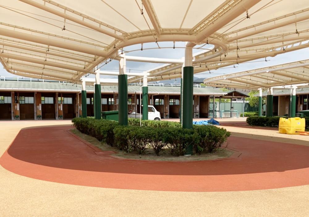 簡易型ポールカバー ラテリアFP 兵庫県宝塚市競馬場