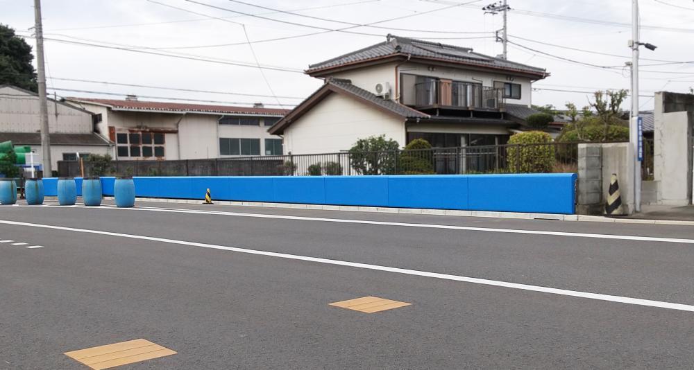 屋外防護マット ラテリアPU 埼玉県狭山市教習所
