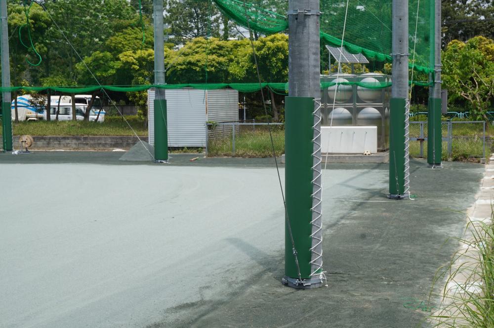 簡易型ポールカバー ラテリアFP 千葉県千葉市中学校