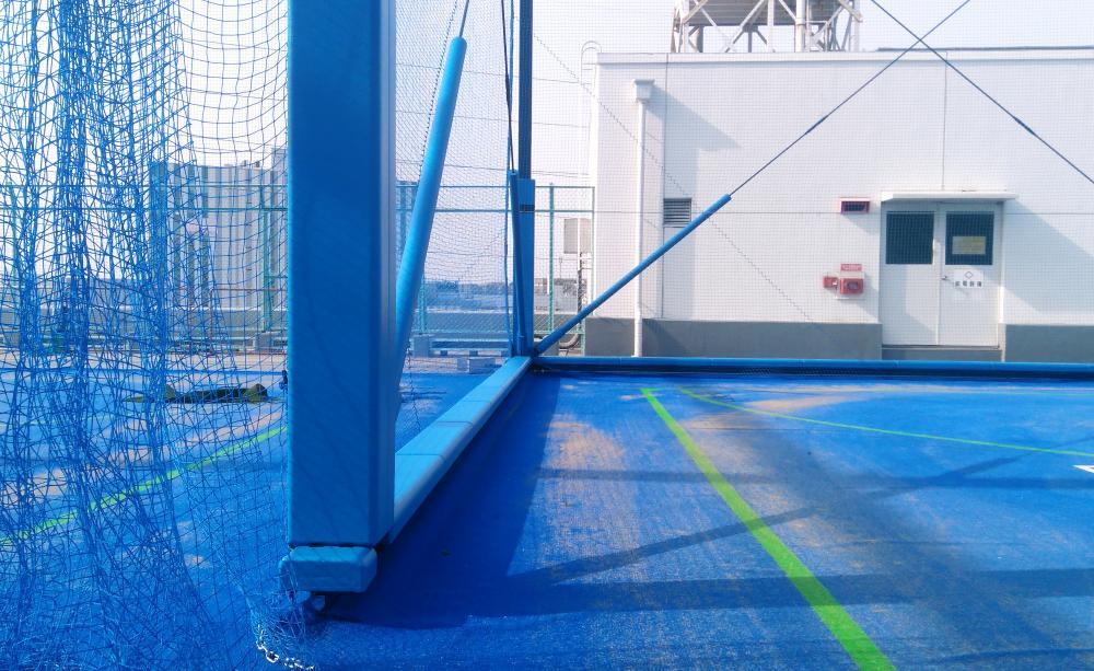 屋外防護マット ラテリアPU 神奈川県横浜市フットサル場
