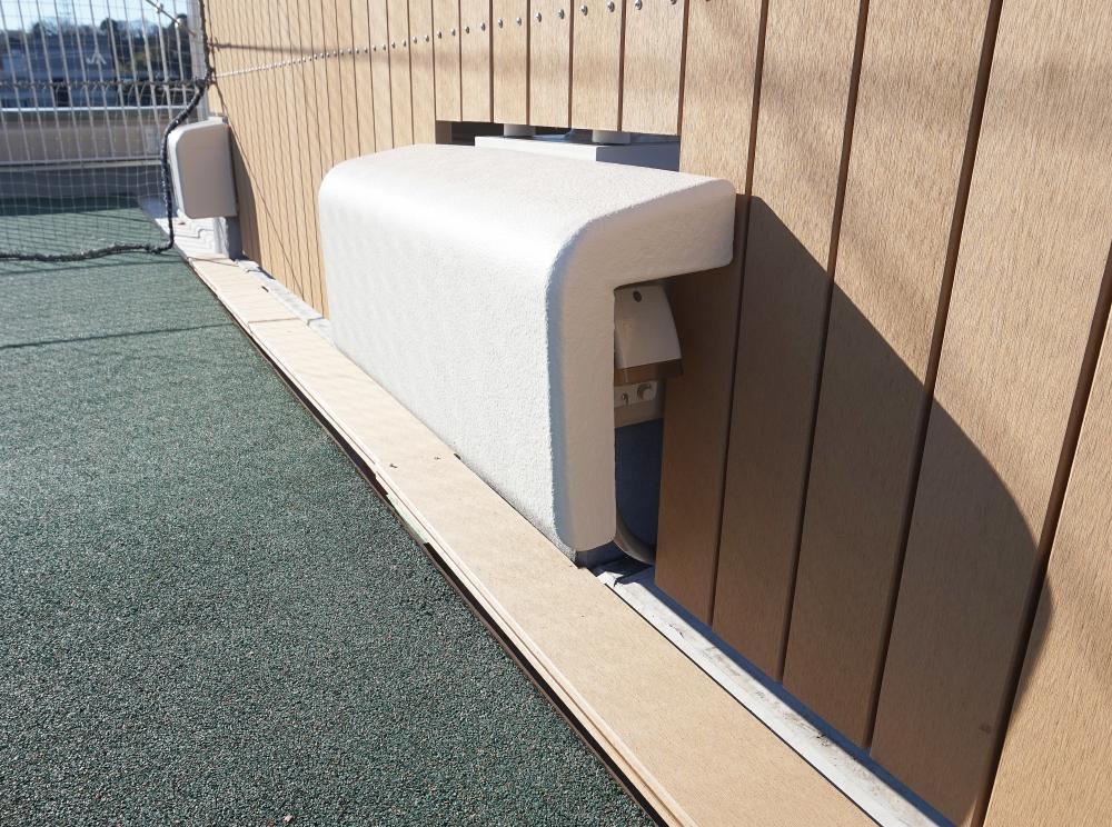 屋外防護マット ラテリアPU 神奈川県川崎市幼稚園