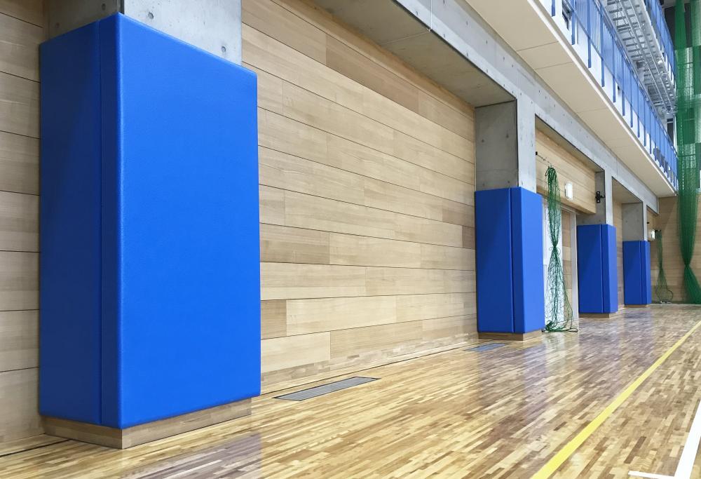 屋内防護マット ラテリアPU 愛知県高浜市体育館