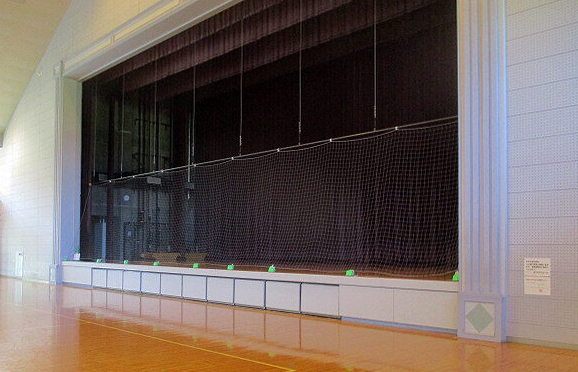 屋内防護マット ラテリアPU 滋賀県近江八幡市総合体育館