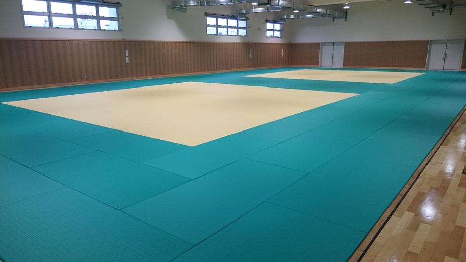 全日本柔道連盟公認畳 フワット 千葉県柏市柔道場