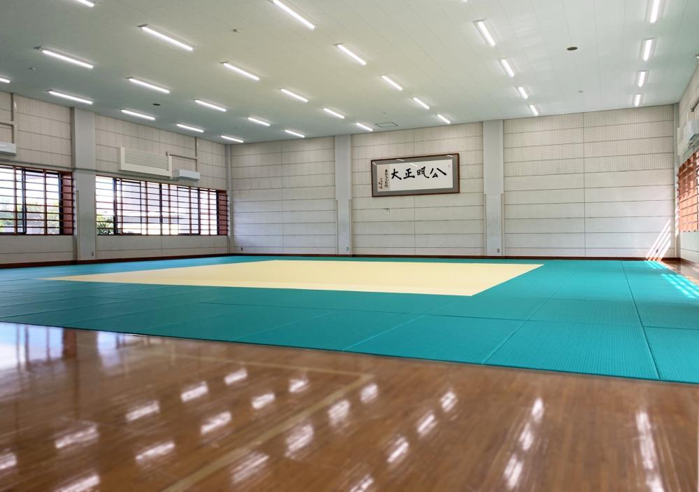 全日本柔道連盟公認畳 フワット 千葉県千葉市柔道場