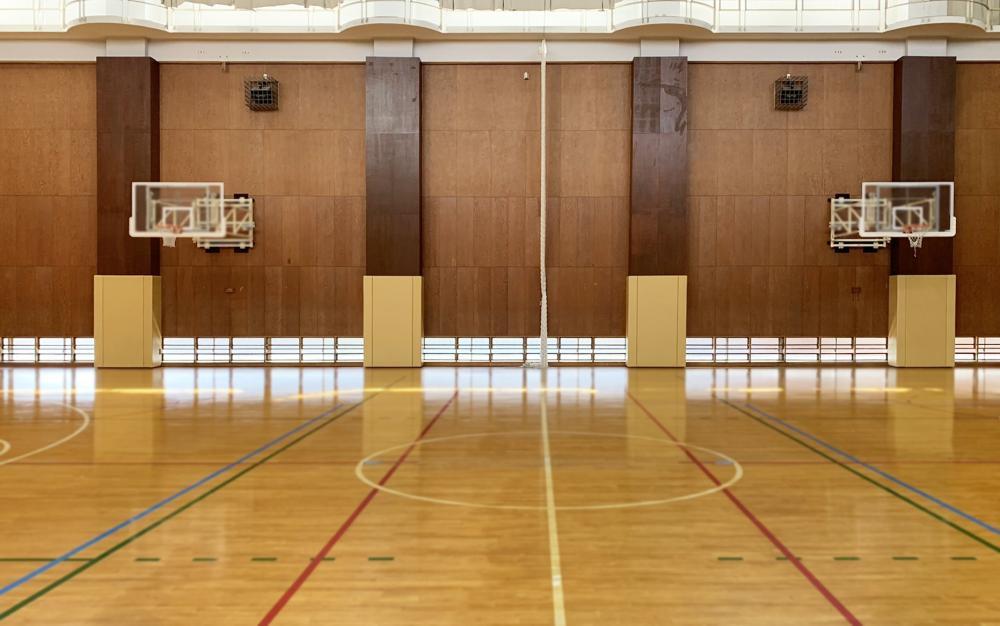 屋内防護マット ラテリアPU 東京都墨田区体育館