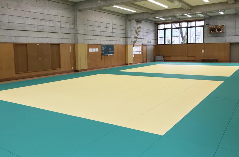 全日本柔道連盟公認畳 フワット 東京都八王子市柔道場