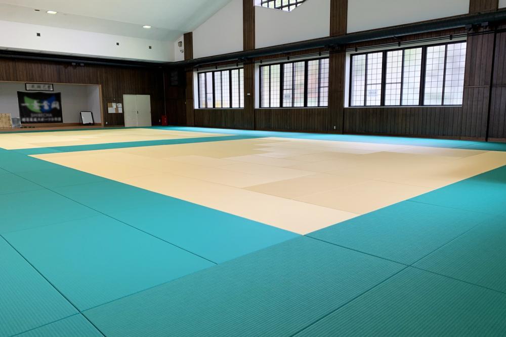 全日本柔道連盟公認畳 フワット 北海道川上郡武道場